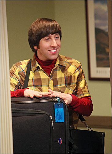 The Big Bang Theory : photo Simon Helberg
