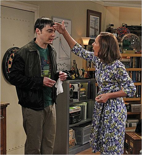 Photo Jim Parsons, Laurie Metcalf