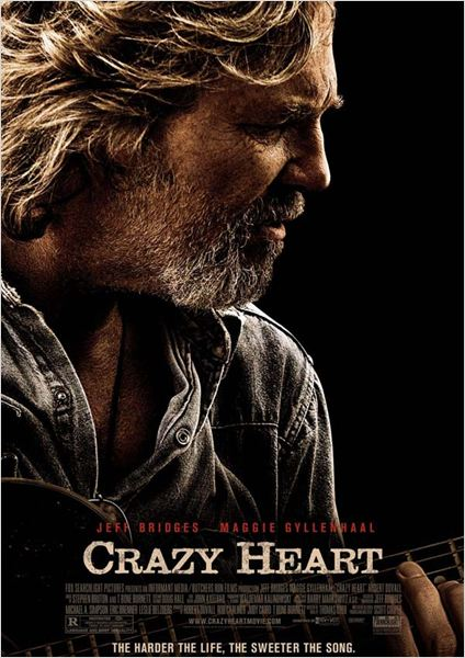 Crazy Heart : affiche Scott Cooper