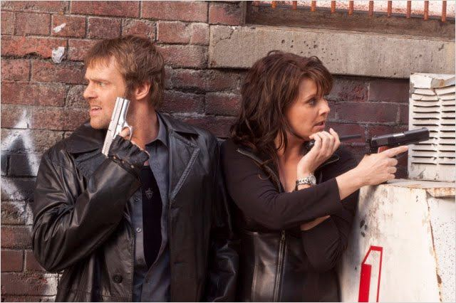 Sanctuary : Photo Amanda Tapping, Michael Shanks