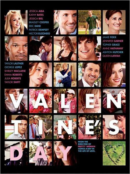 Valentine's Day : affiche Garry Marshall