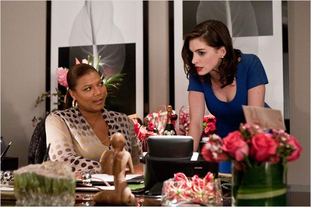 Valentine's Day : photo Anne Hathaway, Garry Marshall, Queen Latifah