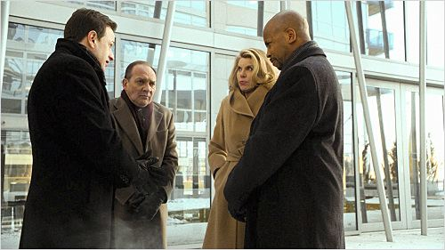 Photo Christine Baranski, Josh Charles, Michael Boatman, Zach Grenier
