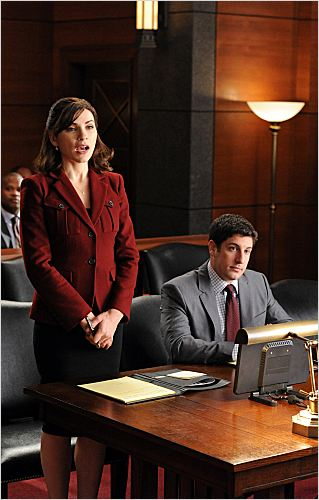 Photo Jason Biggs, Julianna Margulies