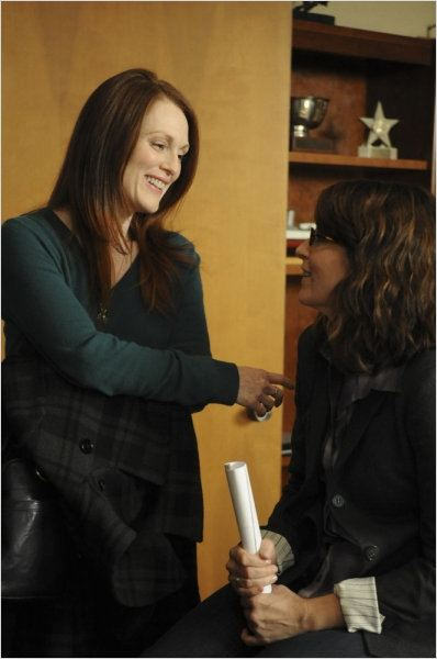 30 Rock : photo Julianne Moore, Tina Fey