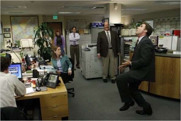 The Office (US) : photo Brian Baumgartner, Jenna Fischer, Kate Flannery, Oscar N&#250;&#241;ez, Will Ferrell
