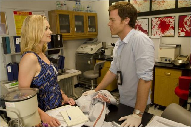 Dexter : photo Michael C. Hall, Yvonne Strahovski