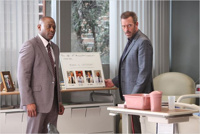 Photo Hugh Laurie, Omar Epps