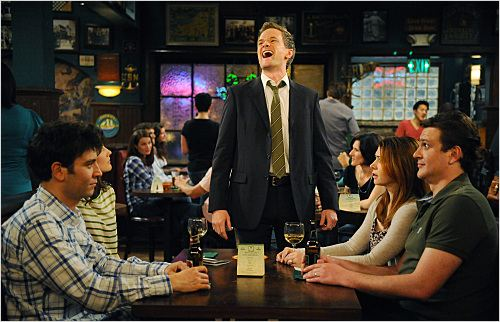 How I Met Your Mother : photo Alyson Hannigan, Cobie Smulders, Jason Segel, Josh Radnor, Neil Patrick Harris