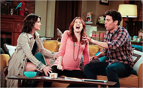 How I Met Your Mother : photo Alyson Hannigan, Cobie Smulders, Josh Radnor