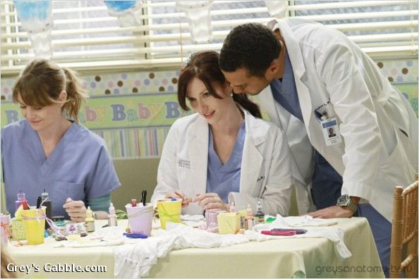 Photo Chyler Leigh, Ellen Pompeo, Jesse Williams