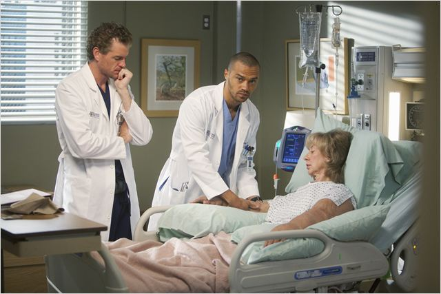 Photo Ellen Crawford, Eric Dane, Jesse Williams
