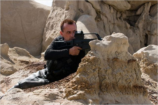 Stargate Universe : photo Robert Knepper