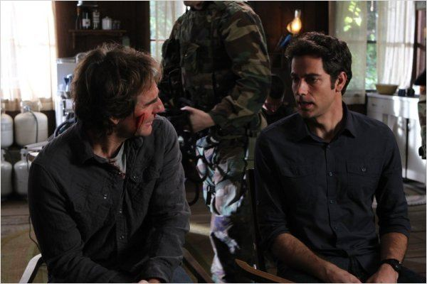 Chuck : photo Scott Bakula, Zachary Levi