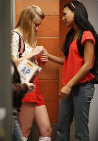 Photo Heather Morris, Naya Rivera