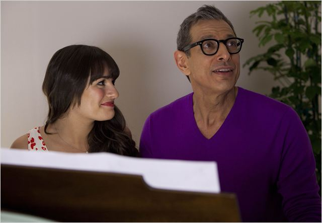 Photo Jeff Goldblum, Lea Michele