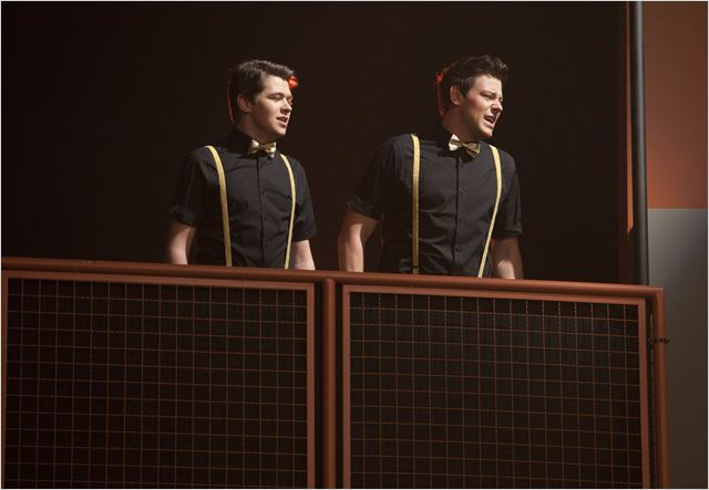 Glee : photo Cory Monteith, Damian McGinty