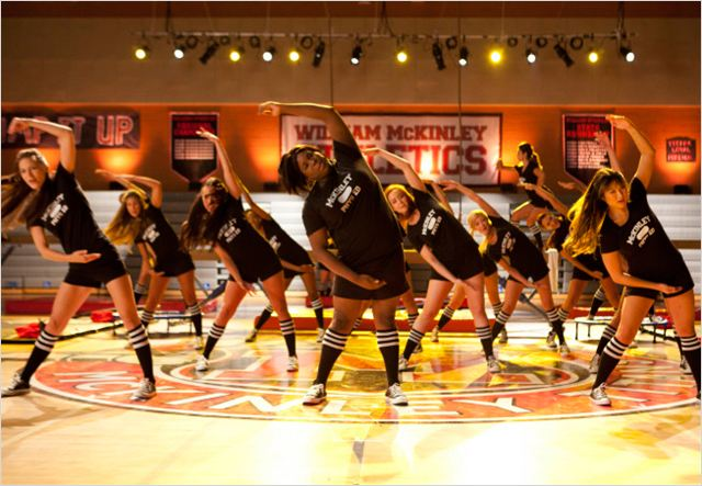 Glee : photo Alex Newell, Jenna Ushkowitz, Melissa Benoist