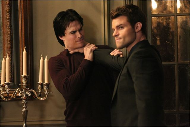 Vampire Diaries : photo Daniel Gillies, Ian Somerhalder