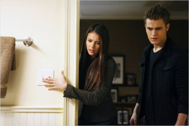 Vampire Diaries : photo Nina Dobrev, Paul Wesley