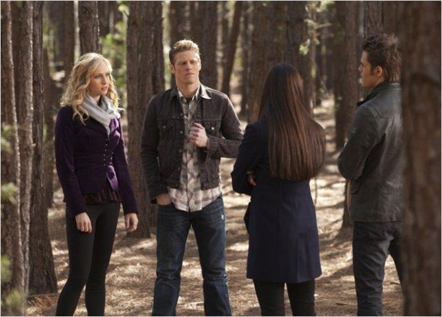 Photo Candice Accola, Joseph Morgan, Nina Dobrev, Paul Wesley