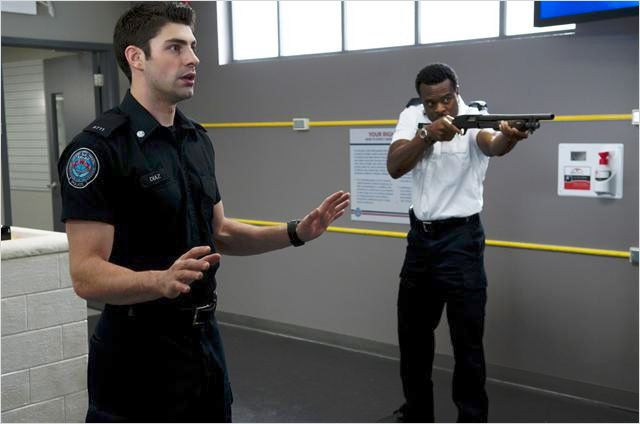 Rookie Blue : photo Lyriq Bent, Travis Milne