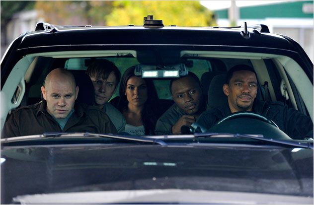Photo Domenick Lombardozzi, Jimmi Simpson, Laz Alonso, Malcolm J. Goodwin, Serinda Swan