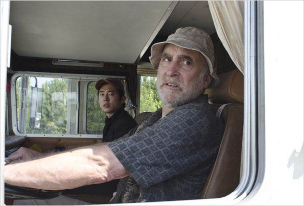 The Walking Dead : photo Jeffrey DeMunn, Steven Yeun