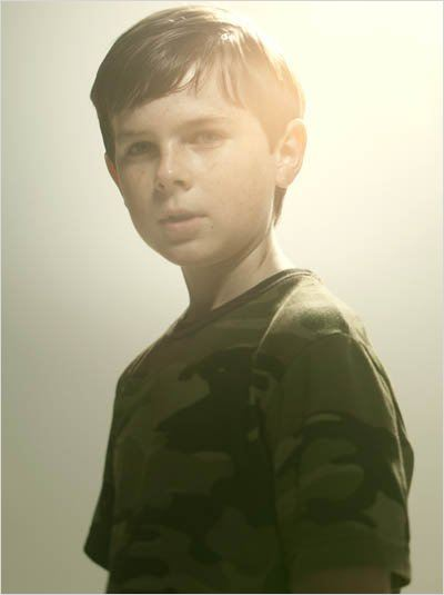 The Walking Dead : photo Chandler Riggs