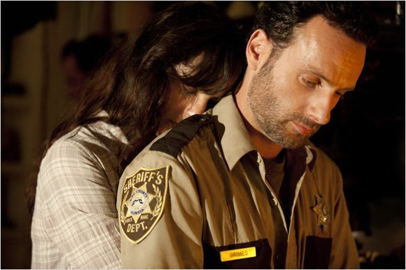 Photo Andrew Lincoln, Sarah Wayne Callies