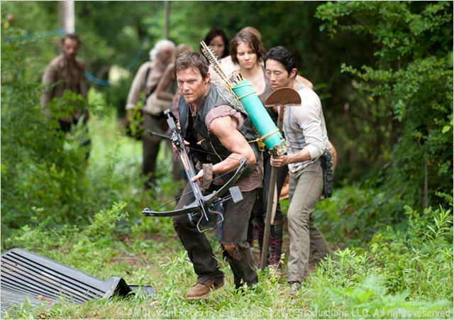 Photo Andrew Lincoln, Lauren Cohan, Norman Reedus, Sarah Wayne Callies, Steven Yeun