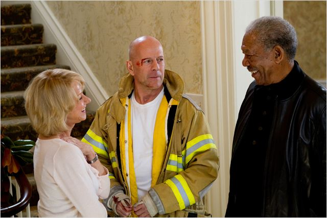Red : Photo Bruce Willis, Helen Mirren, Morgan Freeman, Robert Schwentke