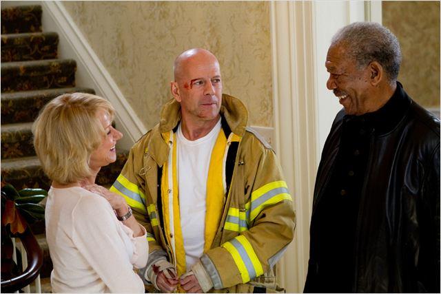Red : Photo Bruce Willis, Helen Mirren, Morgan Freeman