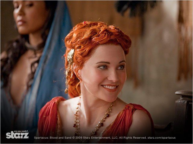 Spartacus : Photo Lucy Lawless