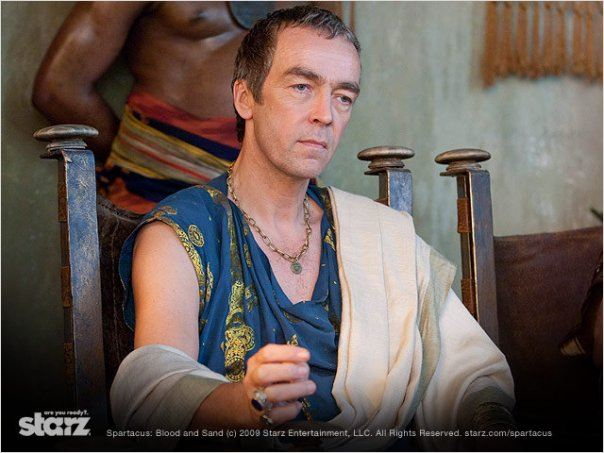 Spartacus : Le sang des gladiateurs : photo John Hannah