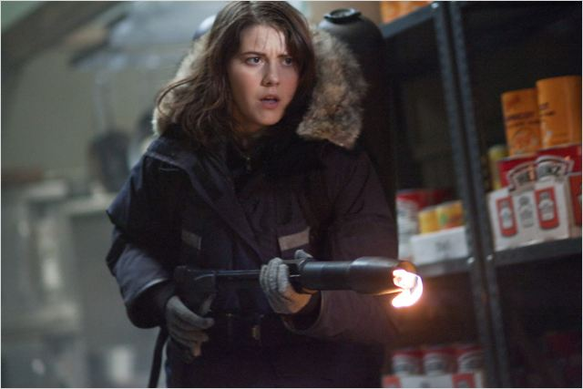 The Thing : Photo Mary Elizabeth Winstead, Matthijs van Heijningen Jr.