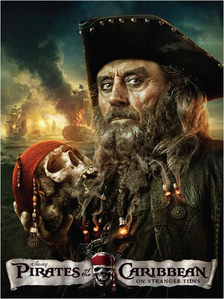 Pirates des Cara&#239;bes : la Fontaine de Jouvence : affiche Rob Marshall