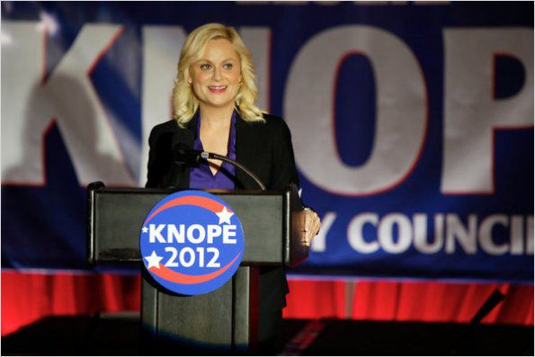 Parks and Recreation : photo Amy Poehler