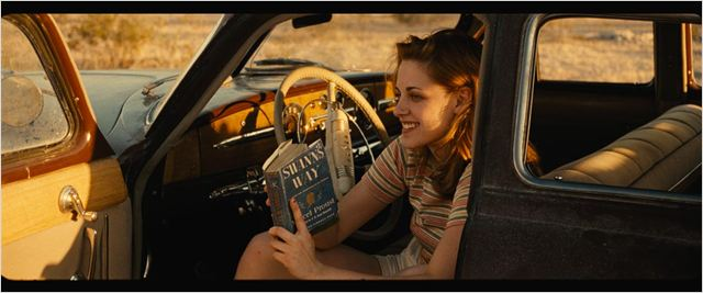Sur la route : photo Kristen Stewart