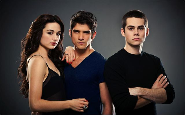 Photo Crystal Reed, Dylan O'Brien, Tyler Posey