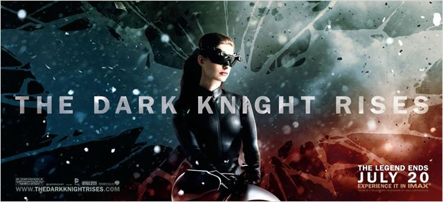 The Dark Knight Rises : Affiche Anne Hathaway, Christopher Nolan