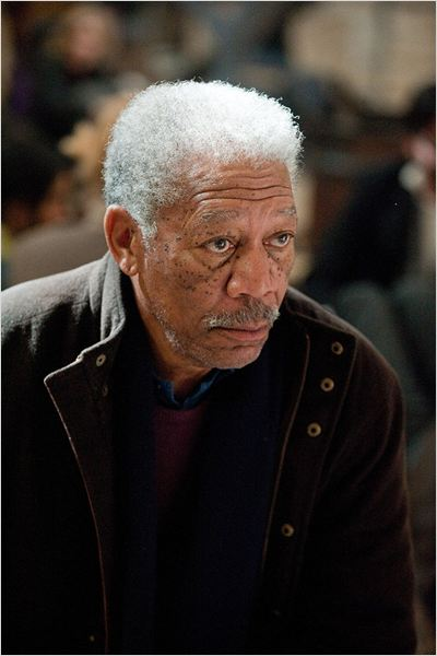 The Dark Knight Rises : Photo Christopher Nolan, Morgan Freeman