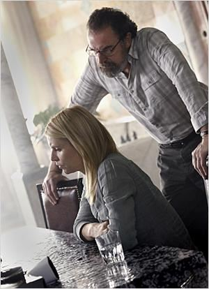 Homeland : photo Claire Danes, Mandy Patinkin