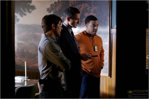 Grimm : photo David Giuntoli, Russell Hornsby, Sasha Roiz