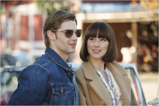 Pan Am : photo Karine Vanasse, Mike Vogel