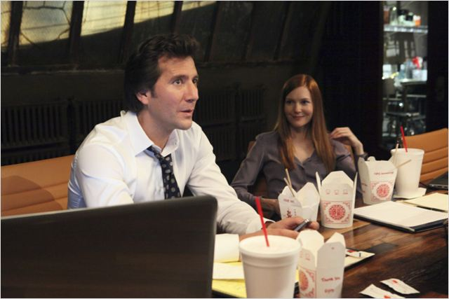Scandal : photo Darby Stanchfield, Henry Ian Cusick