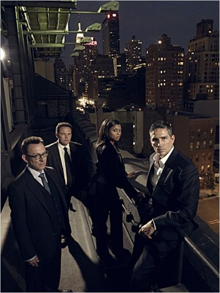 Photo Jim Caviezel, Kevin Chapman, Michael Emerson, Taraji P. Henson