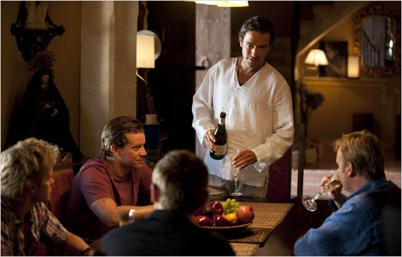 Mad Dogs : photo Ben Chaplin, Marc Warren, Max Beesley, Philip Glenister
