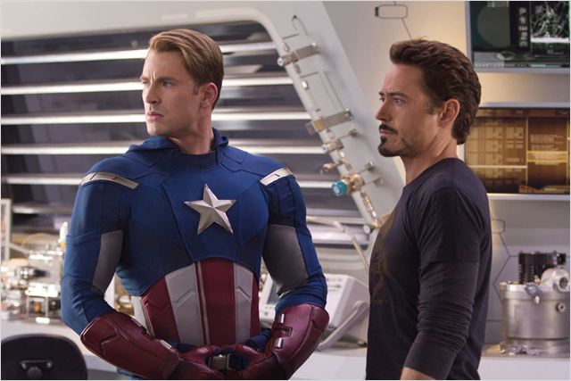 Avengers : Photo Joss Whedon, Robert Downey Jr.