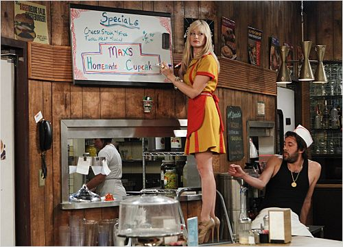 2 Broke Girls : photo Beth Behrs, Jonathan Kite